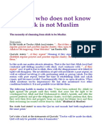 The one who does not know shirk is not Muslim.pdf