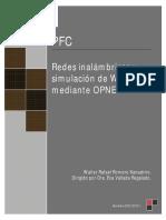 Redes inalámbricas y simulación de WLAN mediante OPNET.pdf