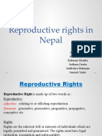 Reproductive rights in Nepal