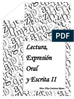CUADERNILLO SEGUNDO SEMESTRE - Lectura Expresión Oral y Escrita - Mta. Eliza Contreras Ramos