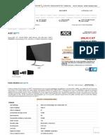 AOC Q27T1 (Q27T1) _ achat _ vente Ecran pour PC sur PC21.FR
