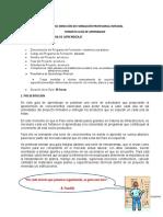 GUÍA DE PARENDIZAJE  - CONSTRUCCION BASICA