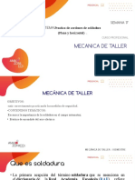 SEMANA 17  DIFERENTES TIPOS DE SOLDADURA