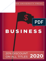 Stanford University Press | Business 2020 Catalog