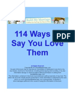 114 Ways to Say You Love Them
