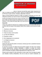 OCTAVIO PAZ EL ABERINTO DE A SLEDAD. ok