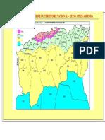 RPA99 VERSION 2003 Carte zonage sismique d'Algerie