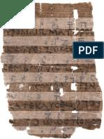 Old Greek Music Score Image 1