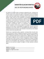 DESLINDE DE RESPONSABILIDAD EDITAR