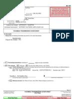 Civil Fax Cover