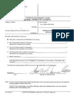 Martin Federal Dismissal