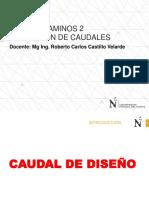 5SEMANA 5 - METODOS PARA EL CALCULO DE CAUDAL 2