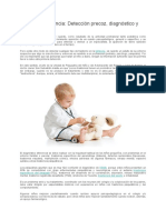 Detección precoz, diagnóstico y tratamient