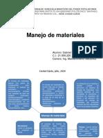 Mapa Conceptual Manejo de Los Materiales