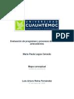 Dimensiones de la evalución mapa conceptual, Maria paula Lagos Caicedo