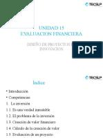 Evauación Financiera