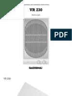 Grill - Gaggenau VR230