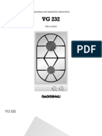 Hob Double - Gaggenau VG232