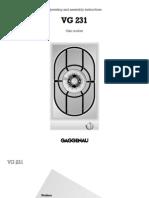Hob Single - Gaggenau VG231