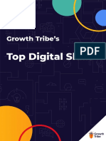 Growth Tribe - Top Digital Skills 2020 & Where to Learn