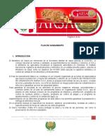 0.PLAN DE SANEAMIENTO PLANTA DE ALIMENTOS ORG GARSA SAS