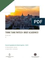 Brief Academico CLNA- Reporte Julio Fintech