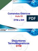 Aula 3 - Comandos Elétricos - Jomar Bueno - DTM & IDR