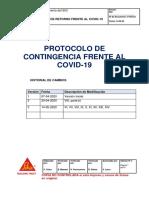 P-SGI-22 Protocolo De Retorno Frente al Covid-19 Ed3-1