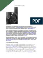 El psicoanálisis como método de investigación