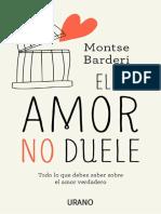 El Amor No Duele-Montse Barderi @Mo