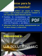 Presentacion Profesional y Unica Del Club de Salud Integral de Ur Solutions!! Vesion 97-2003