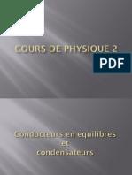 Conducteurs  et Condensateurs Partie1