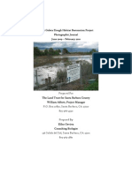 West Goleta Slough Habitat Restoration Project Photographic Journal