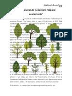 6. LEY GENERAL DE DESARROLLO FORESTAL SUSTENTABLE