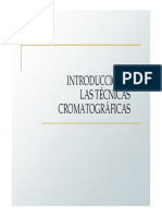 13 Introduccion a las tecnicas cromatograficas