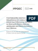 Contribuições didático-pedagógicas do cinema para o ensino das Ciências da Natureza na Educação Básica por uma abordagem histórico-filosófica das Ciências