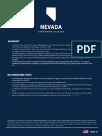 White House coronavirus Nevada report