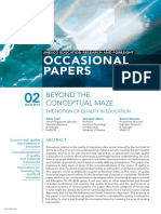 Unknown - 2012 - Beyond the ConCeptual Maze the notion of quality in eduCation Sobhi Tawil.pdf