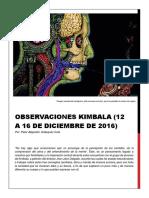 Observaciones kimbala