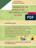 PANORAMA DE UN MODELO DE DESARROLLO DE AYUDA