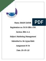 MM Assignment 4 EZ 036.docx