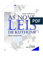 As Nove Leis de Kuthumi Jefferson Viscardi