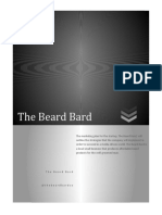 SWOT Analysis Beard balm company