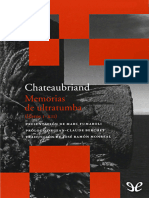Memorias de ultratumba (libros I-XII) - Francois-Rene de Chateaubriand.epub