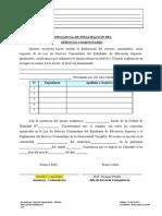 F-1-05-013-03 Constancia de Finalizacion de Servicio Comunitario