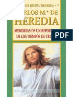 Memorias de Un Reportero de Los Tiempos de Cristo - Carlos de Heredia