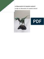 Esculpe un dinosaurio de tamaño natural.docx