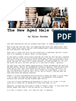 Tyler Durden - The New Aged Male Gayness.pdf