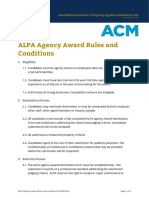 ALPA Agency Award Rules and Conditions V5 2004