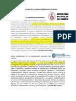 PERFIL PROFESIONAL DE LA CARRERA DE INGENIERIA ELECTRÓNICA